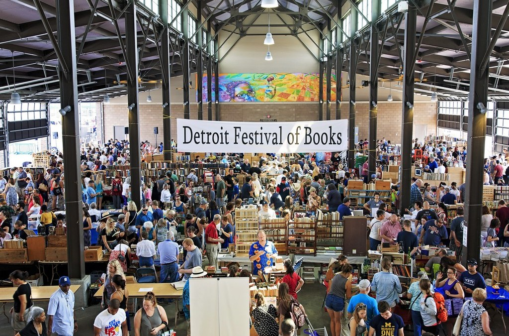 400+ Photos from the 2nd Annual Detroit Festival of Books @ Eastern Market!