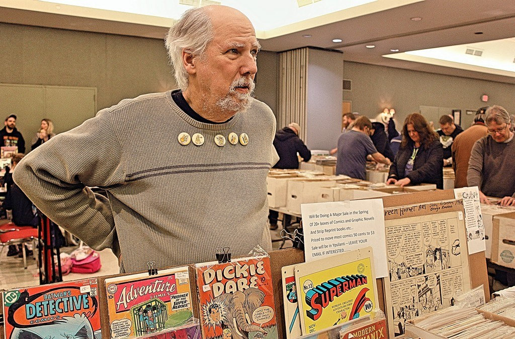 Exclusive Interview: The Comic Book Wizard of Ypsilanti, GEORGE HAGENAUER, Reflects on 50 Years of Collecting Thousands of Comics, Artwork and Books!