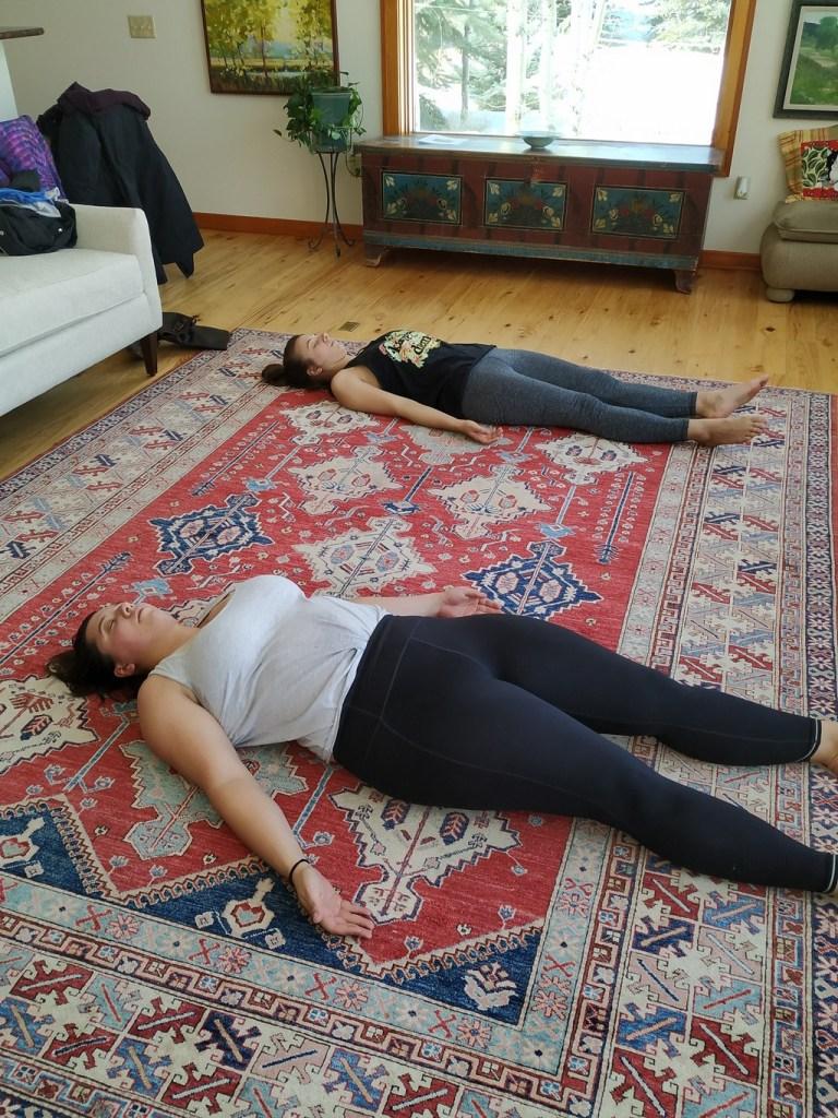 Yoga (photo courtesy of Elyse Thulin)