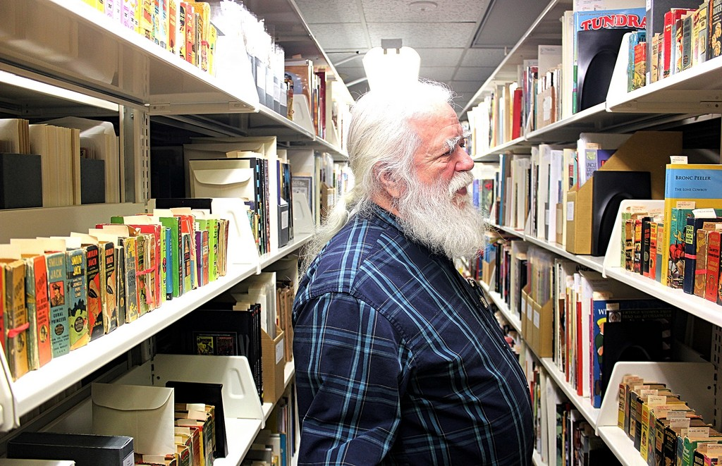 Exclusive Interview: Touring the World's Largest Library Comic Book Collection of 350,000 items @ Michigan State University with head honcho RANDY SCOTT!