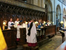 Choral Evensong at Chichester Cathedral
