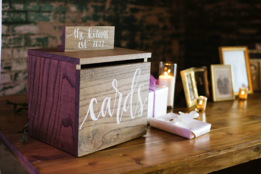 Detroit Chiavari Rustic Card Box