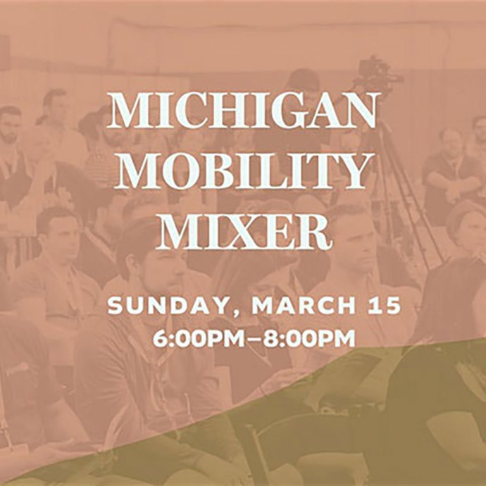 Michigan Mobility Mixer with Detroit Mobility Lab & PlanetM