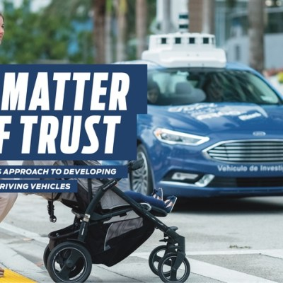 Ford outlines safety measures for autonomous vehicles