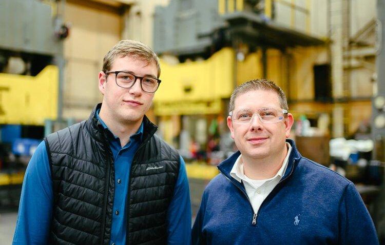 Joe Frank and Shawn Quinn at RCO Engineering.