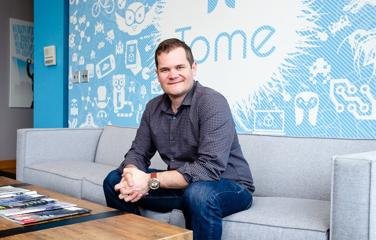 Jake Sigel is chief executive officer of Tome Software.