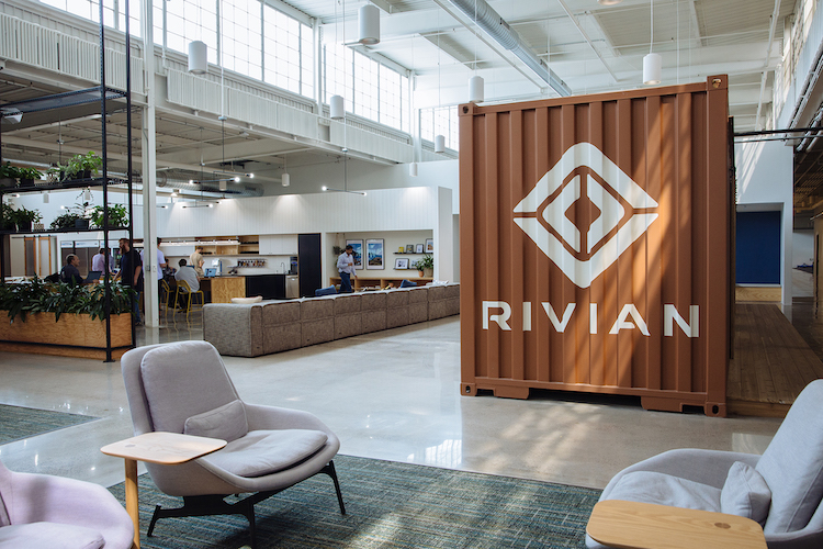 Rivian's headquarters is in Plymouth, Michigan, and is home to 350 of the company's 500 employees.