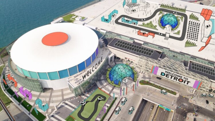 Cobo Center will become an indoor/outdoor experience as part of the Detroit auto show in June 2020.
