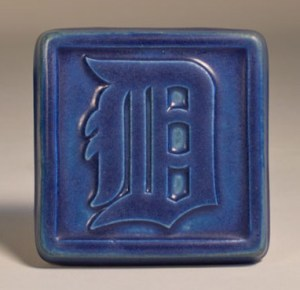 Detroit Tigers D Tile