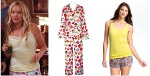 Chloe's Cupcake Pajamas