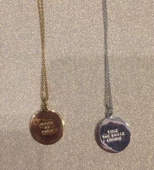 idiom necklaces