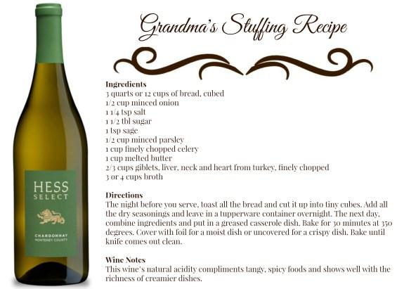 Grandmas Stuffing Recipe