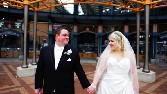 Wedding Comerica Park