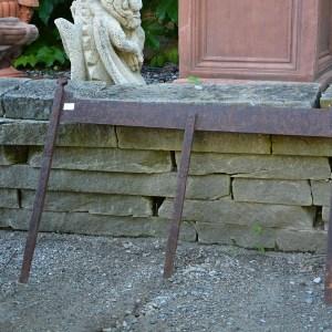 Antique English Cast Iron Boot Scraper