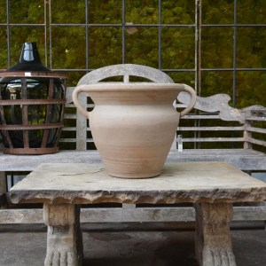 Stoneware Pot with Handles Main