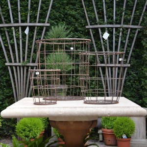 Round Metal Baskets Main