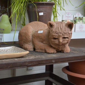 Terra Cotta Cat 1