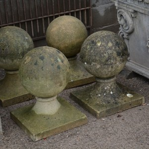 Antique Ball Finials