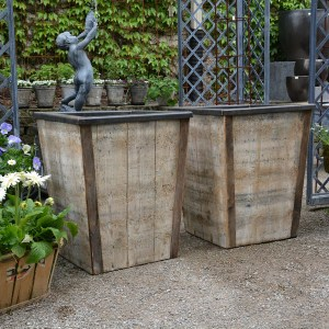 Tapered Wood Containers 2