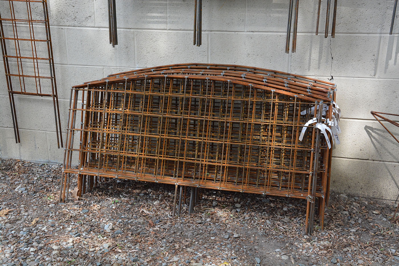 48″ Arched Border Trellis | Detroit Garden Works