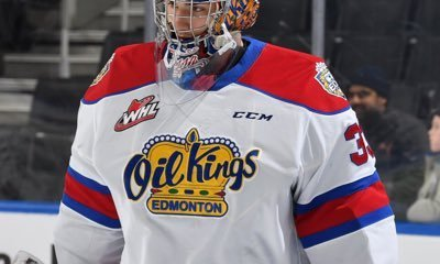 The Red Wing could be interested in drafting Edmonton (WHL) goalie Sebastian Cossa