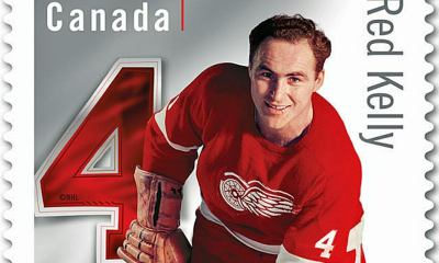 Red Kelly stamp