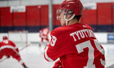 Kiril Tyutyayev, Detroit Red Wings prospect