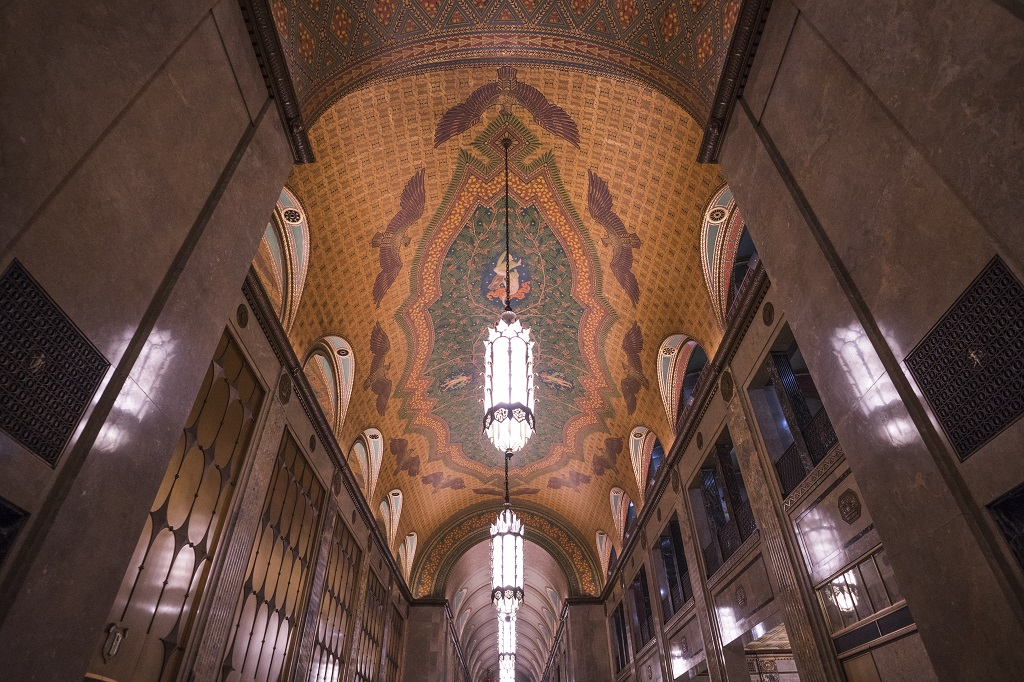 Fisher Building Interior Lobby