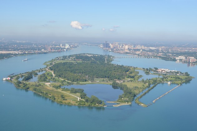 Belle Isle's Blue Heron Lagoon, Courtesy Smith Group