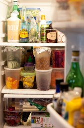TAKING A LOOK INSIDE WILL LEE'S FRIDGE