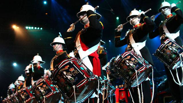 The Band of the Royal Marines And The Pipes, Drums, and Highland Dancers of the Scots Guards 6