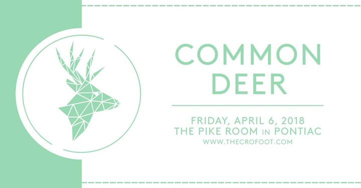 Common Deer at The Pike Room 4/6 6