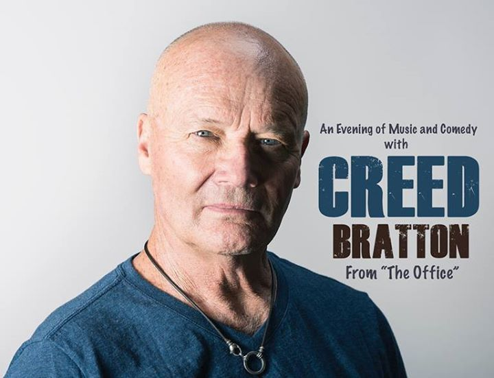 Creed Bratton (from The Office) at Saint Andrews Hall 6