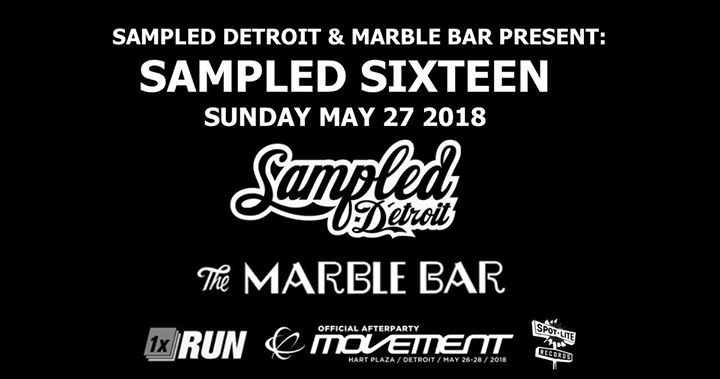 Sampled Sixteen Sunday May 27 Movement Official Afterparty 6