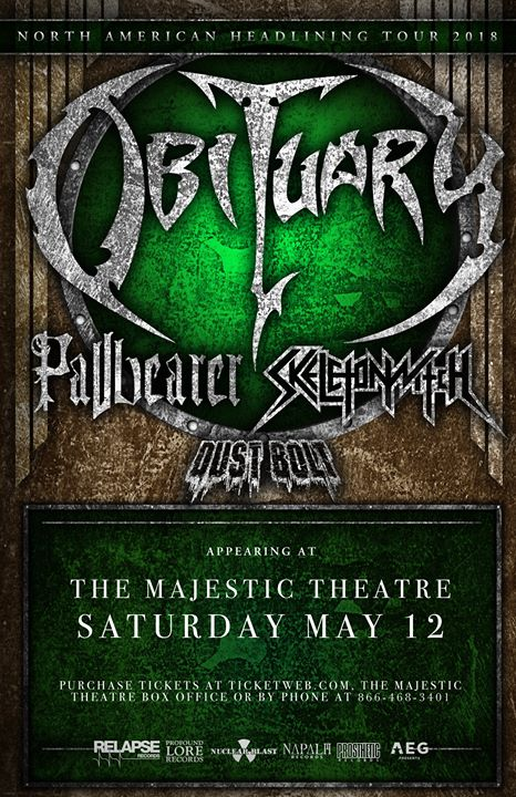 Obituary at The Majestic 6