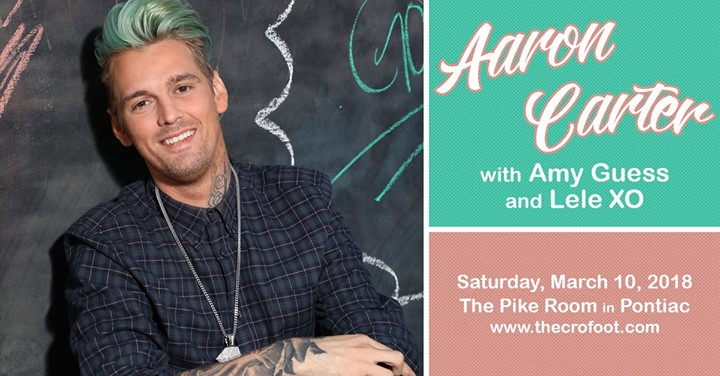 Aaron Carter at The Pike Room 3/10 6