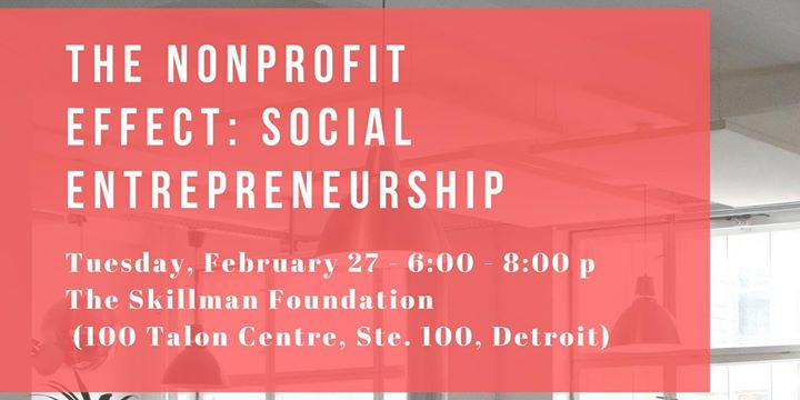 The Nonprofit Effect: Social Entrepreneurship 6