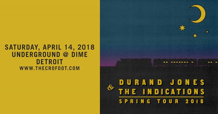 Durand Jones & The Indications at The Underground at DIME 4/14 6
