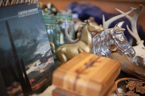 Trinkets and books at Eldorado General Store. Photo Stephanie Hume
