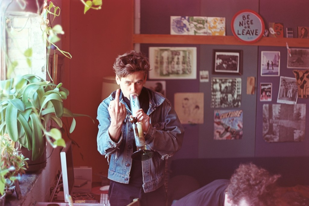 Graham in Studio