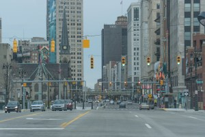 Detroit City Streets. Photo Katai