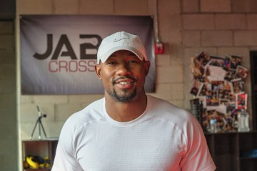 Armond Rashad inside of Jabs Gym.