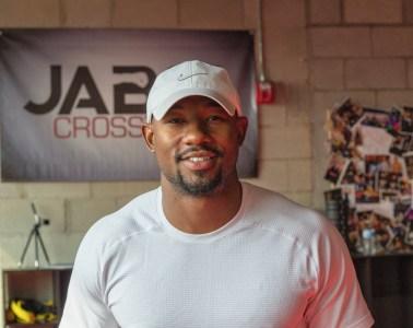 Armond Rashad inside of Jabs Gym.