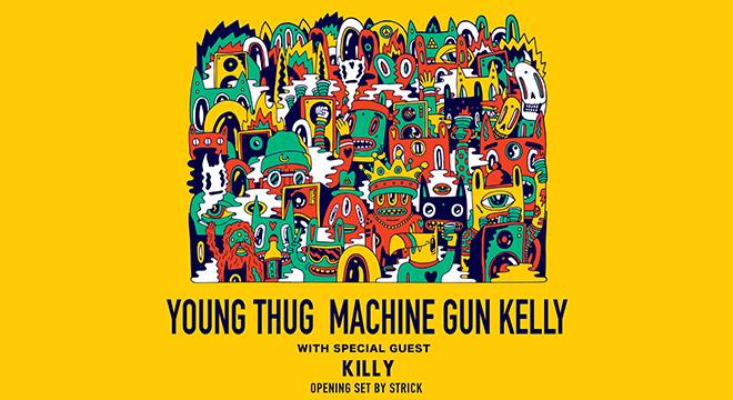 MUSIC, YOUNG THUG AND MACHINE GUN KELLY
