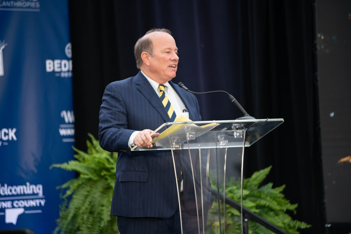 MIKE DUGGAN DCI PRESS CON. PHOTO ACRONYM