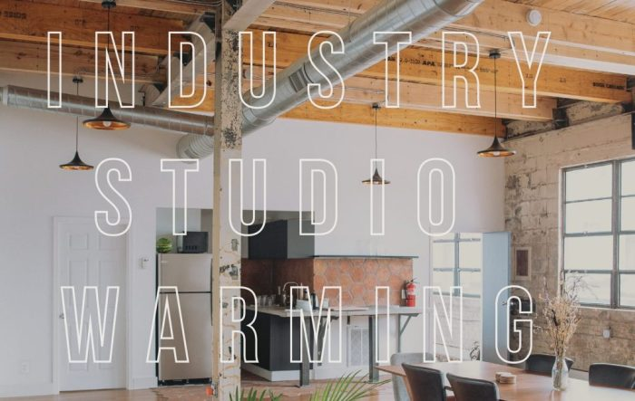 EVENTS INDUSTRY STUDIO WARMING ARTISTIC