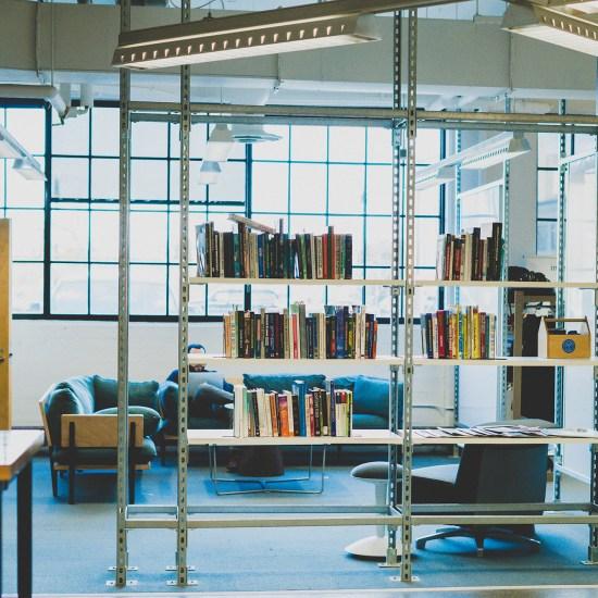 WORKSPACE INSIDE TECHTOWN. PHOTO BY AMI NICOLE / ACRONYM