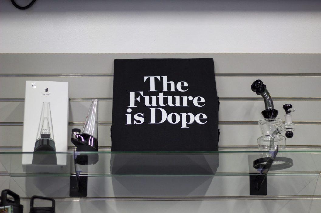 THE FUTURE IS DOPE. PHOTO JOHN BOZICK