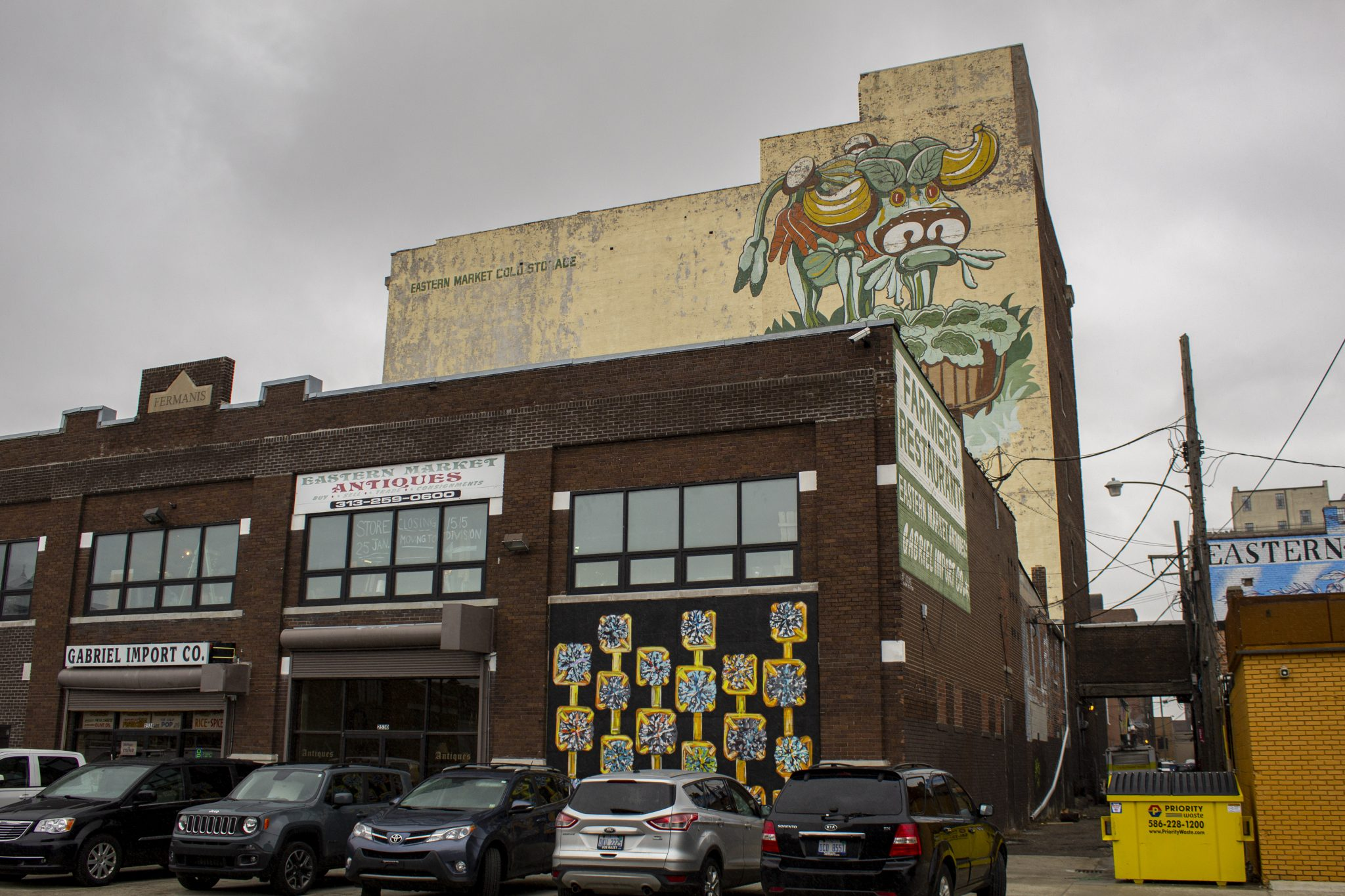 THE CURRENT LOCATION OF EASTERN MARKET ANTIQUES AT 2530 MARKET ST. PHOTO JOHN BOZICK
