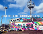 GOING GREEN WITH GREEN LIVING SCIENCE. IMAGE ACRONYM